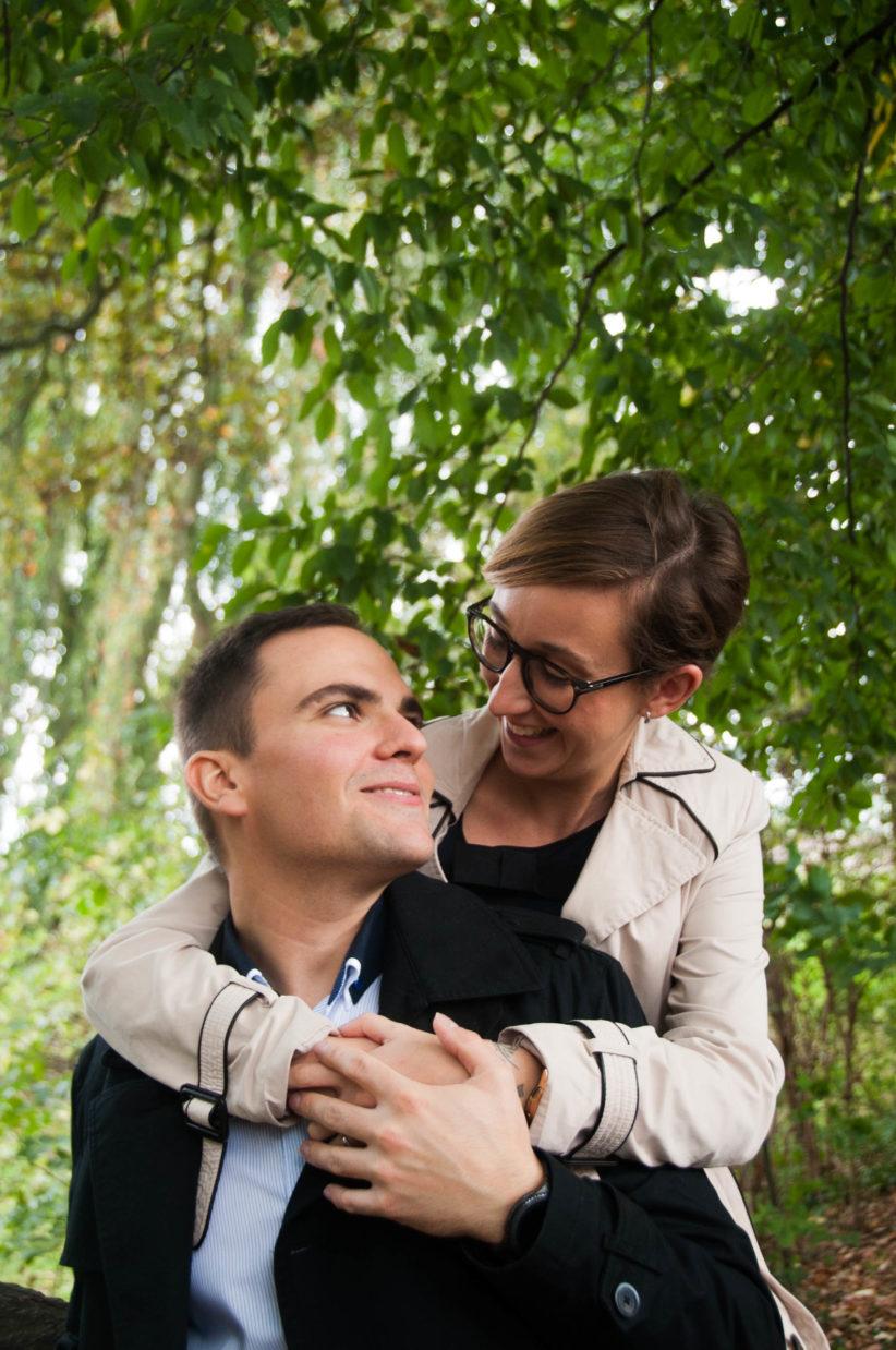Séance engagement mariage lille